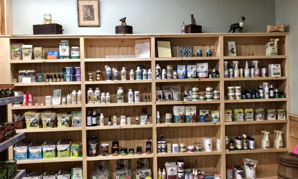 All-natural supplies for dogs and cats at Willow Farm Pet Services in Vermont