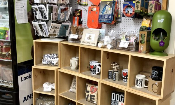 Dog and cat related gifts at Willow Farm Pet Services in Vermont